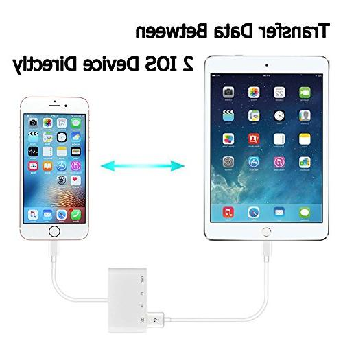 Lightning to Reader, 4 in Lightning to Card iPhone 6 6s Plus iPad Air
