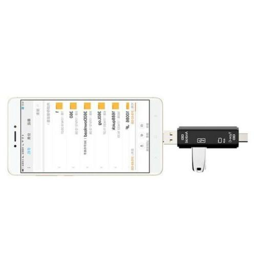 Memory Card Reader+OTG Adapter Cable for LG G7