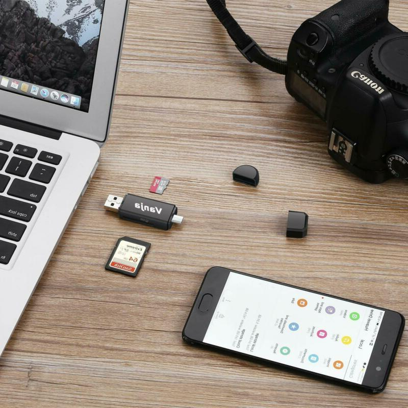 Memory Micro And Micro Usb Otg 2.0 Adapter