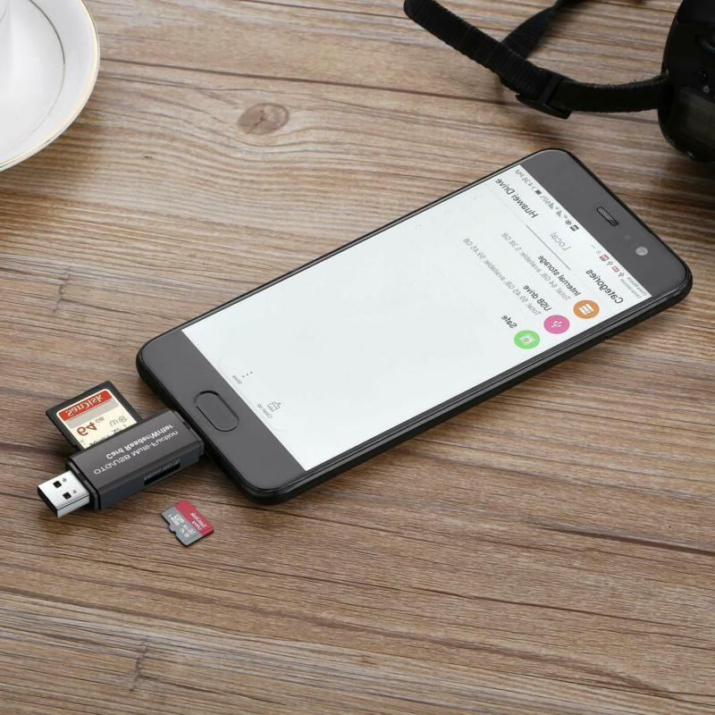 Memory Card Micro Sd Usb Otg To 2.0 Adapter