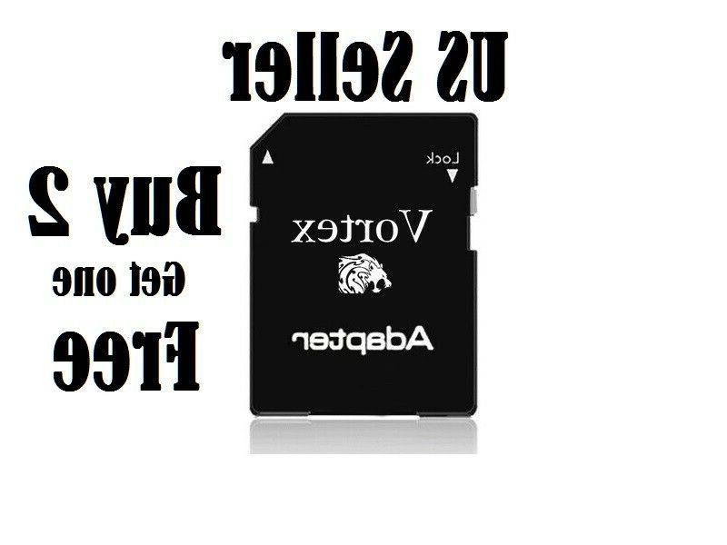 Micro SD Adapter To SD HC SDHC Memory Card Adapter Reader -N