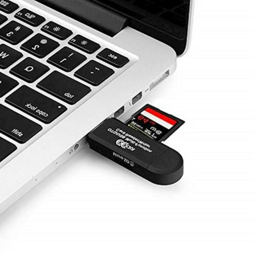 COCOCKA OTG to USB 2.0 Adapter; SD/Micro SD with 5324940