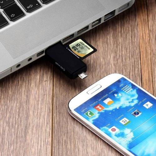 Micro OTG USB 2.0 SD standard Male~