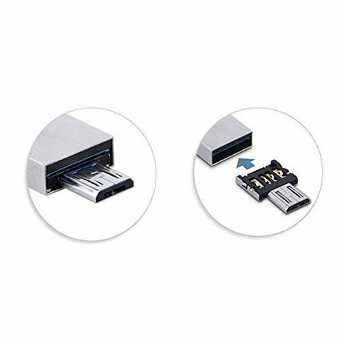 3.0 Micro SDXC with Micro USB OTG