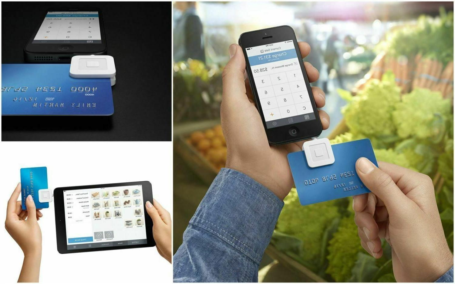 Square Mobile Debit Credit Card Reader Smart Phone Android S