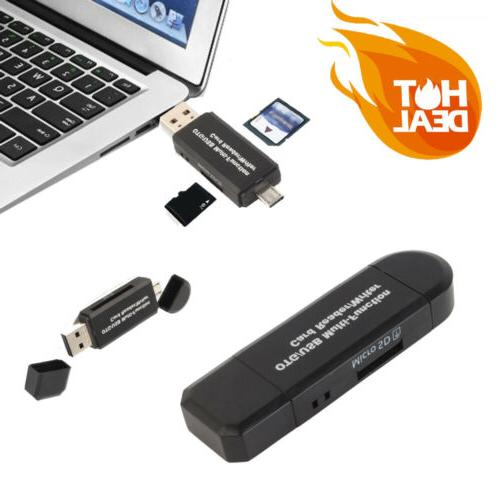 multi function usb card reader sd card