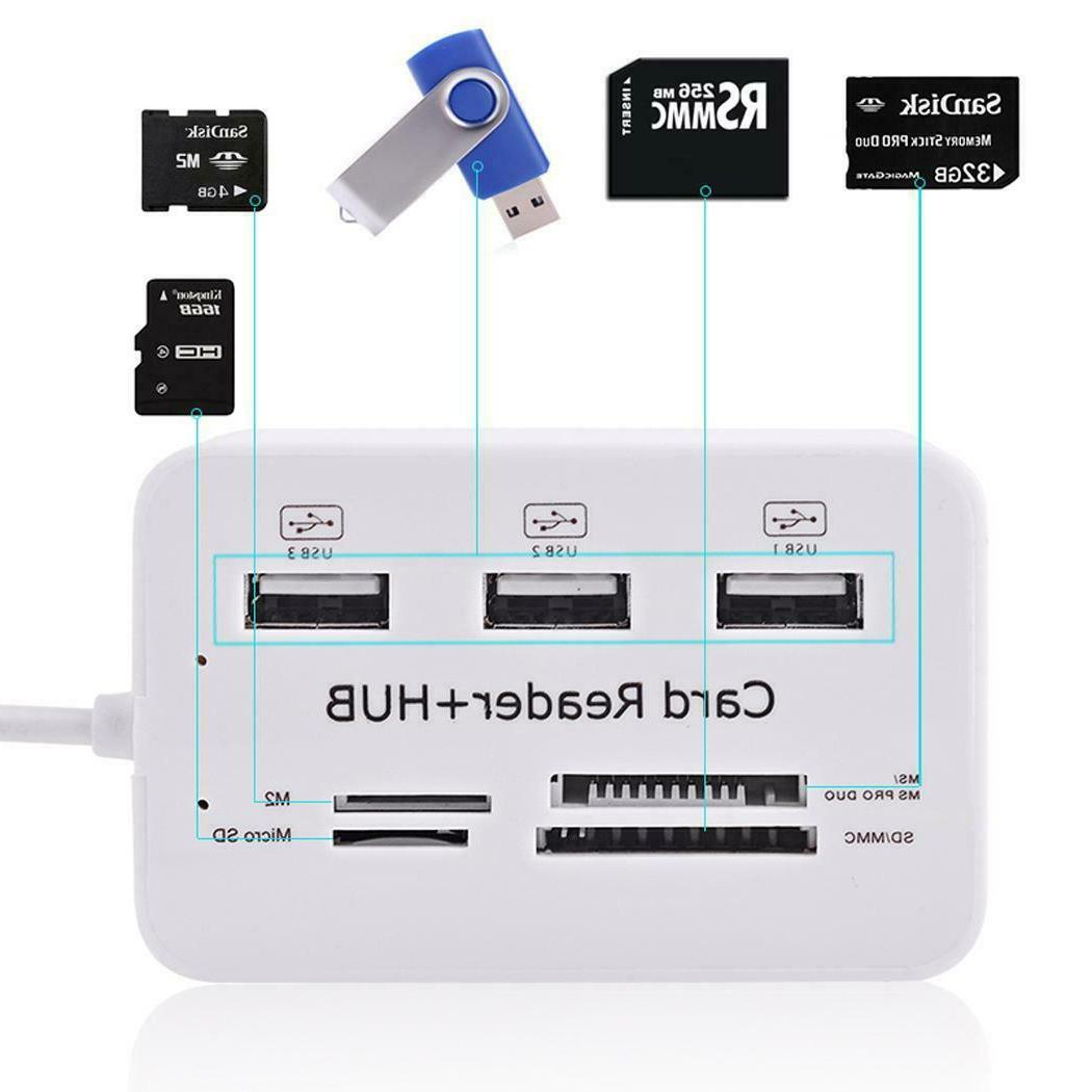 Multi Micro External Reader 3 Ports for PC DHMS