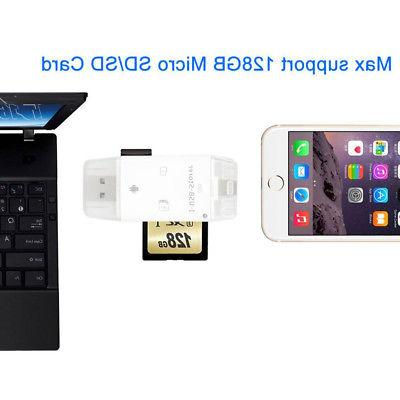 3 1 SD Card fit PC/ Android Device USA