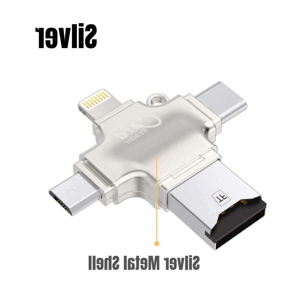 New Card Reader USB 2.0 for OTG Android/iPhone/PC