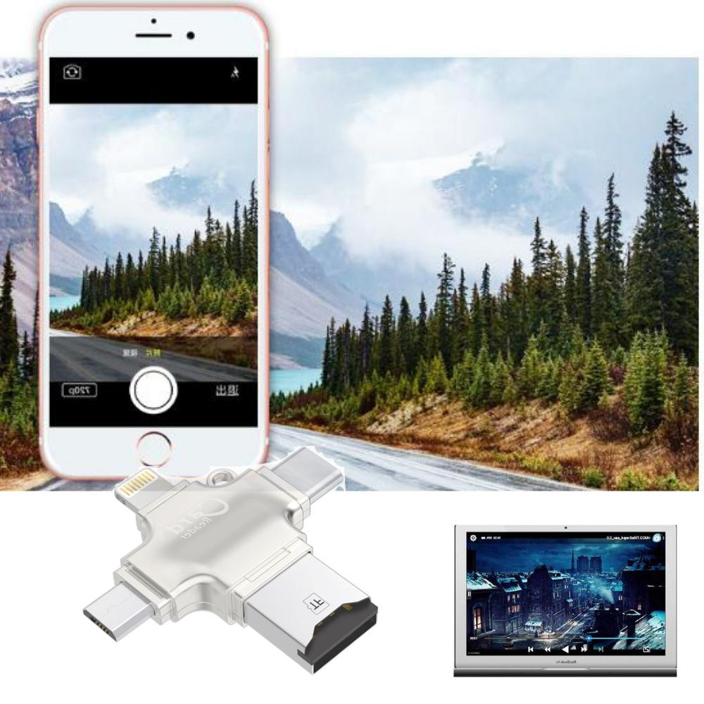 New Card Adapter USB 2.0 OTG Android/iPhone/PC