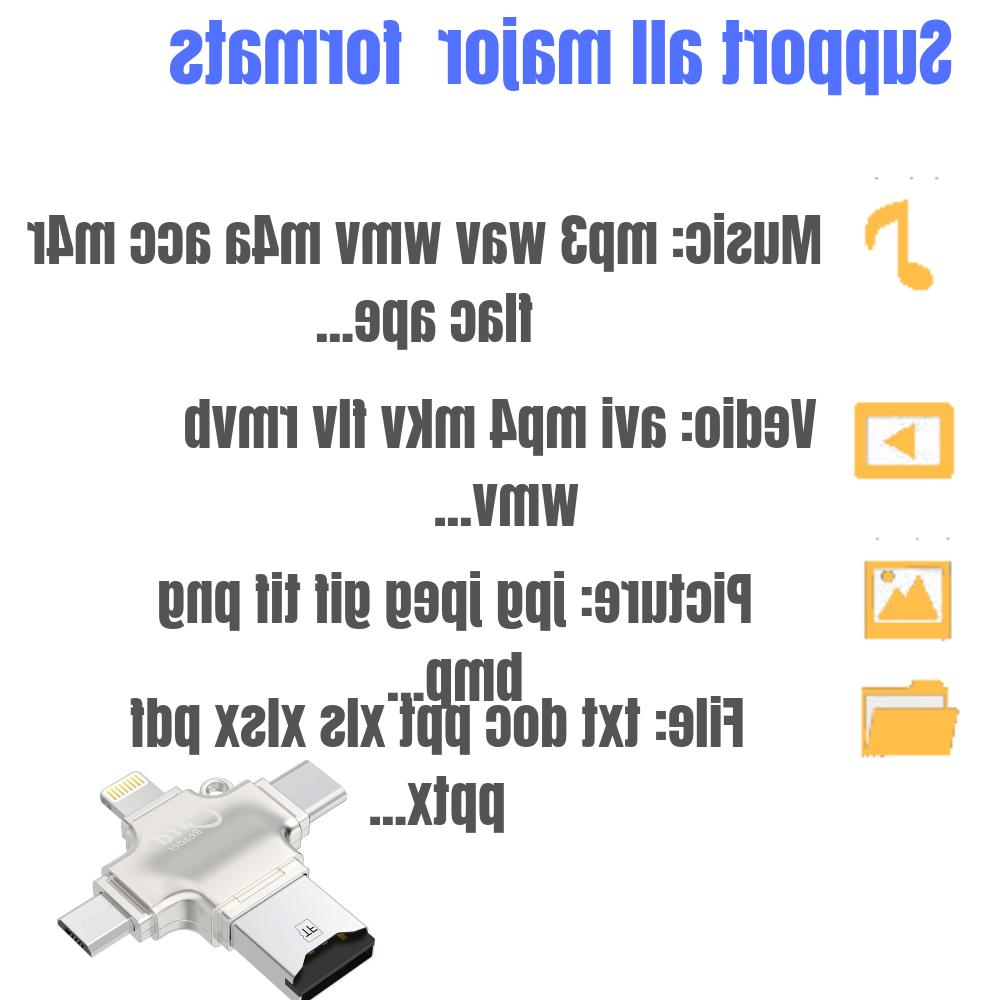 New 4 USB 2.0 Android/iPhone/PC