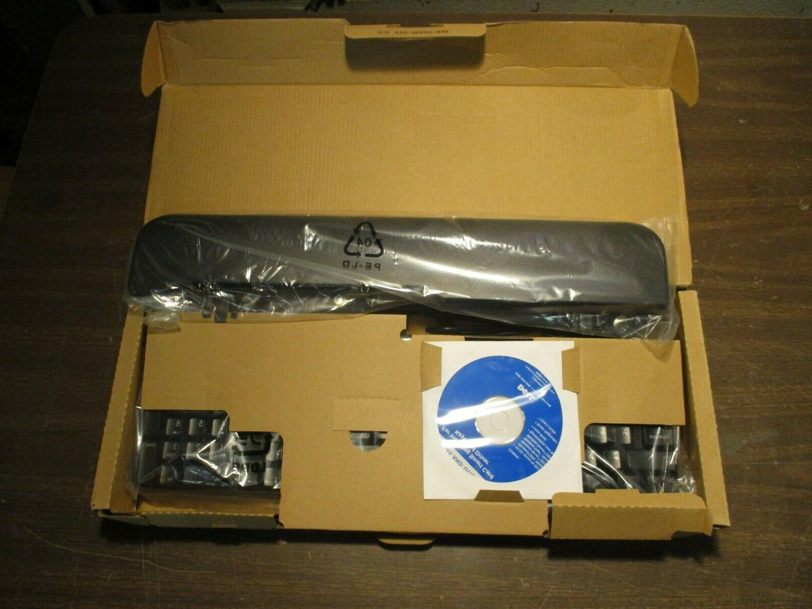 New Dell SK-3205 104 Key Wired USB Keyboard KW240 Smart Card