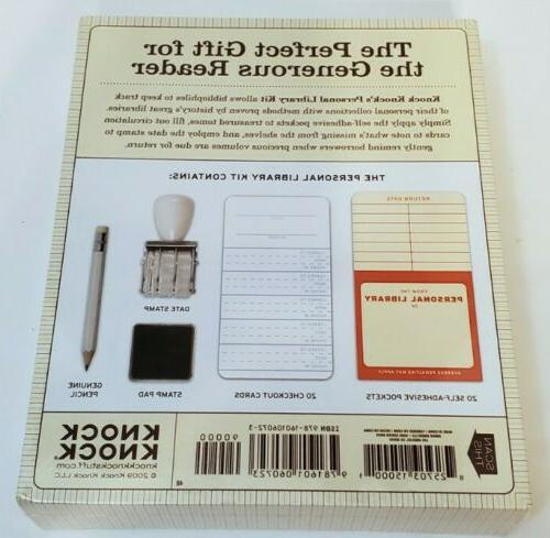 Personal Kit Knock Date Stamp Ink New