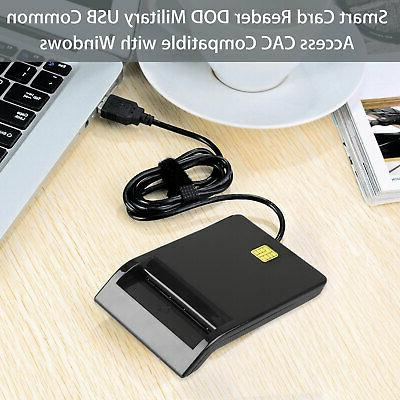 Smart Card Reader DOD Military Common CAC OS
