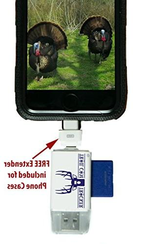 Trail Camera SD Reader for iPhone & – The Best & Fastest Card Memory Free )