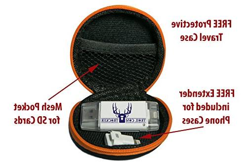 Trail Cam Tracker Trail Camera SD for – The Best Fastest Game SD Card Viewer – Memory - Free Case