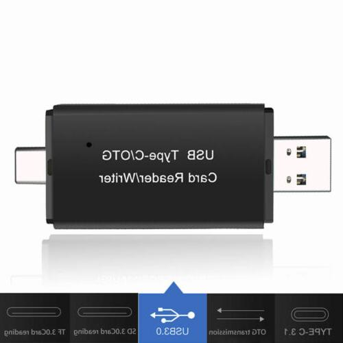 SD USB 3.0 Type Card Adapter TF