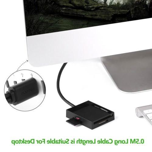Ugreen USB Card Adapter 5Gbps SD, SDHC,TF, MS UHS-I