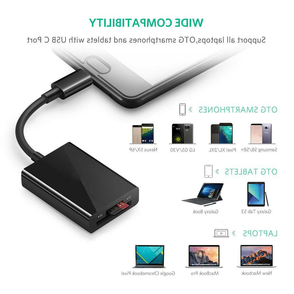 SD USB Flash Memory TF Reader SDXC