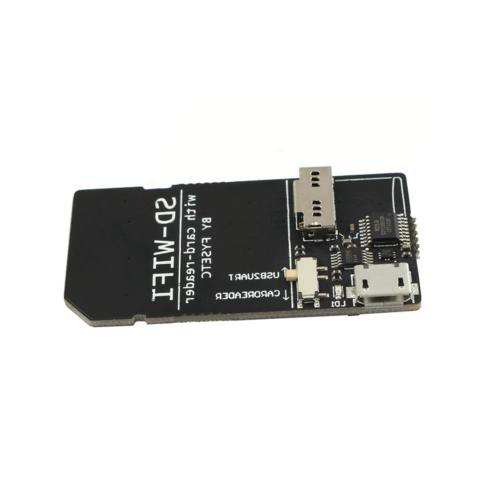 SD-WIFI with Card-Reader run Onboard