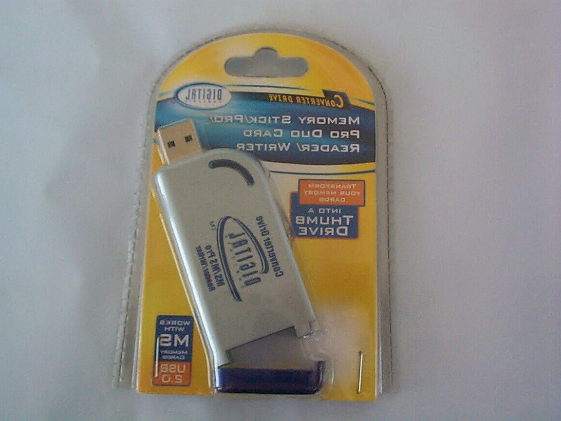 secure card reader writer converter drive new