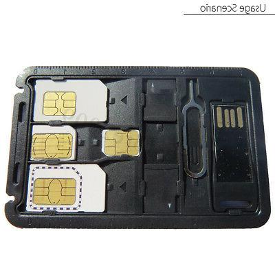 SIM Case w/ Card Reader SIM & iPhone