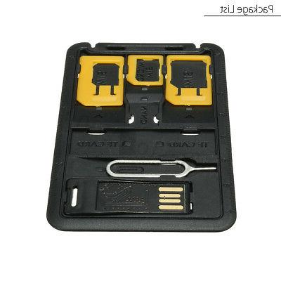 SIM Card Holder Case & iPhone