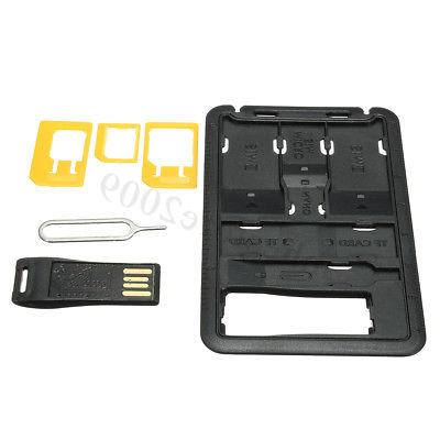 sim card holder storage case w memory