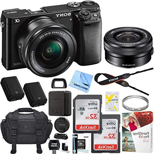 sony alpha a6000 mirrorless slr