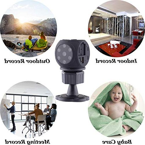Spy Hidden Gupacido Hidden Camera Mini Camera With TF Card/ 1080P/720P Wireless Night Vision Spy Cam for Car, Office
