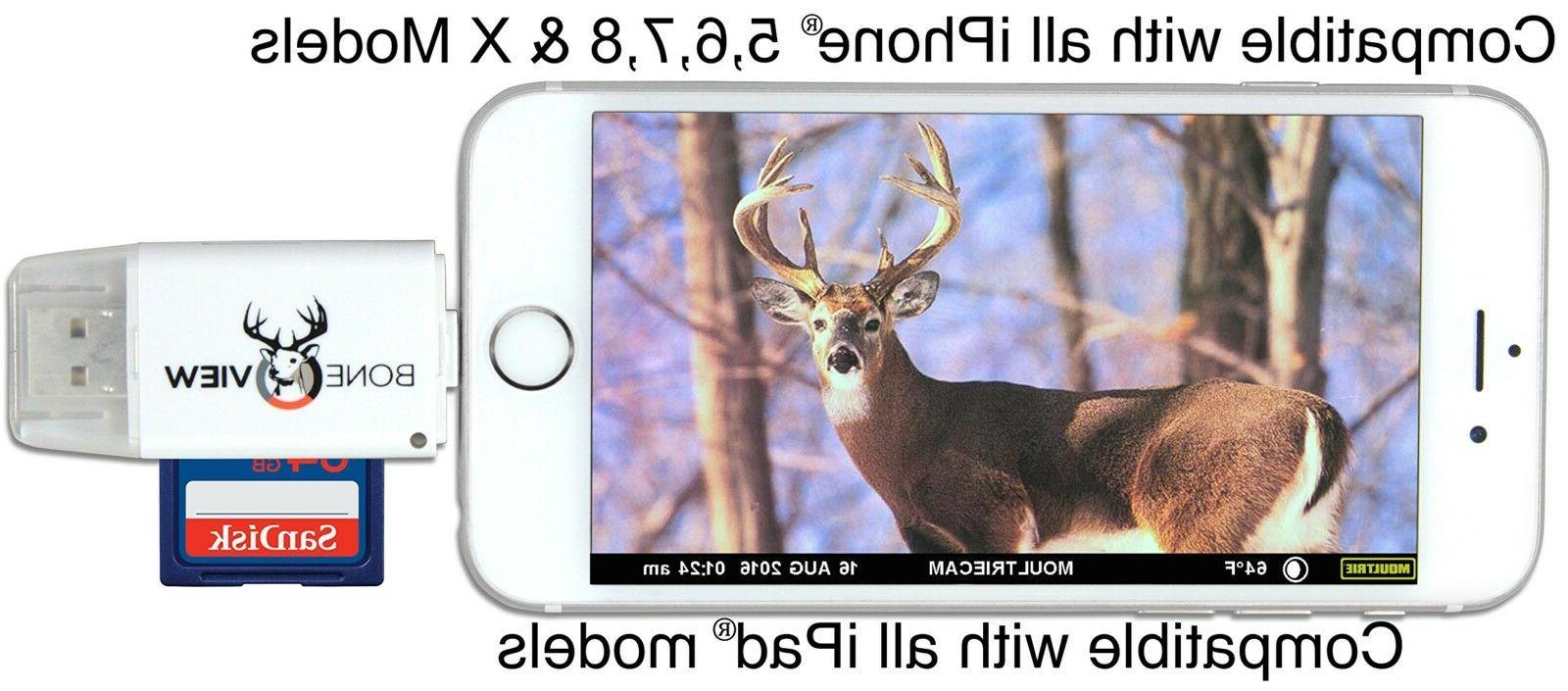 Trail Camera Viewer SD Card Reader For Android Sandisk Wildgame
