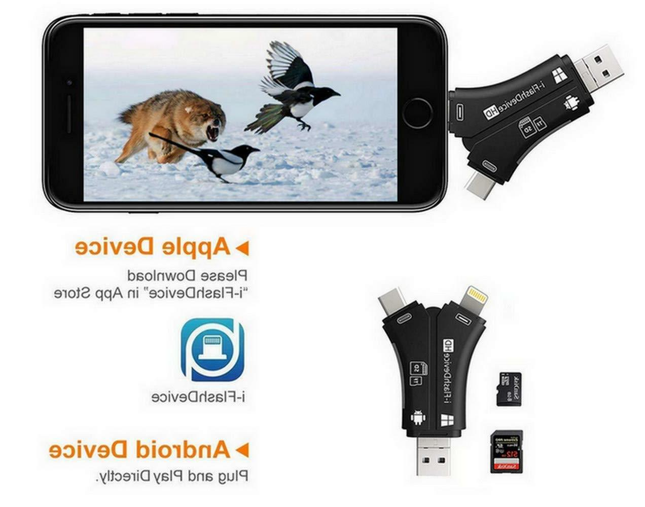 Trail Camera Viewer Micro Reader IPhone IPad Mac & Android