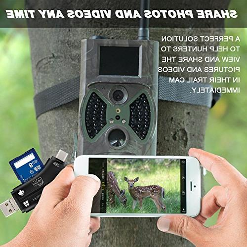 MOSPRO for Mac & Android, Micro SD and Wildlife Cam on Hunter