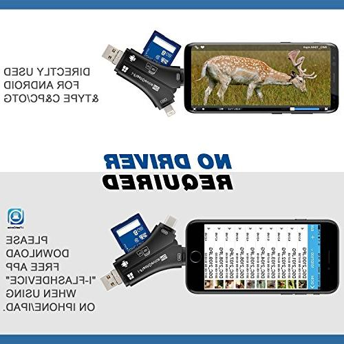MOSPRO Camera for iPhone & Android, Reader and Videos any Wildlife on Smartphone for Hunter