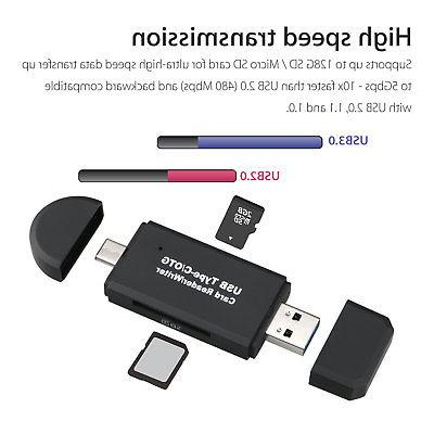 Type-C OTG Adapter For Note 9 S9 S8