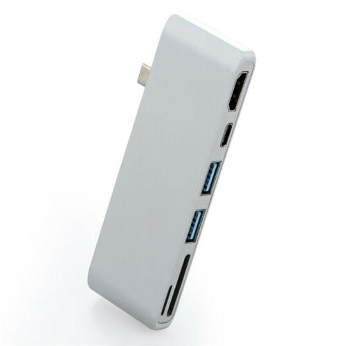Type HDMI 3.0 USB-C Charging Reader For Pro