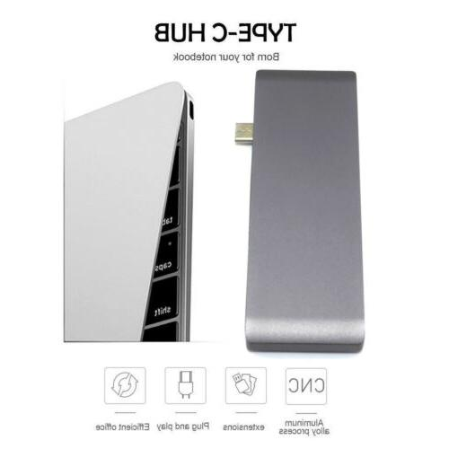 Type to HDMI 3.0 USB-C Charging Reader Adapter For Mac Pro