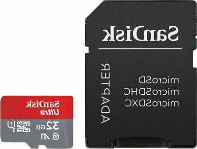 SanDisk Ultra microSDHC UHS-I card with - 98MB/s A1 -