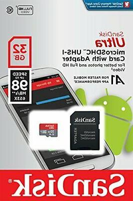 SanDisk 32GB UHS-I Adapter - 98MB/s A1 -