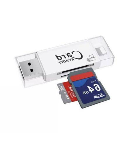 USB 1 reader for iOS phone and