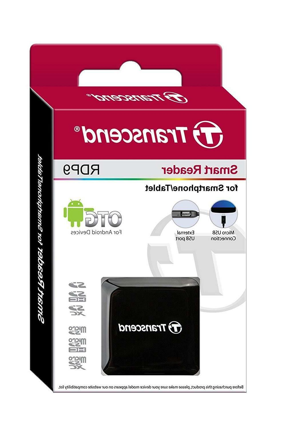 Transcend USB 2.0 Card Reader,