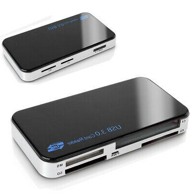 USB in 1 Card Reader 5gbps Adapter SD XD