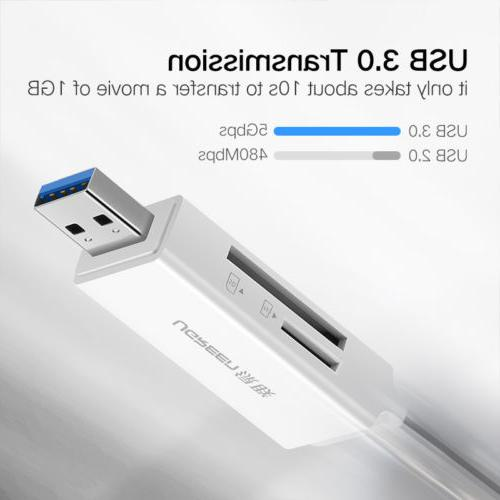 Ugreen SD Card USB 3.0 Dual Flash Memory Hub