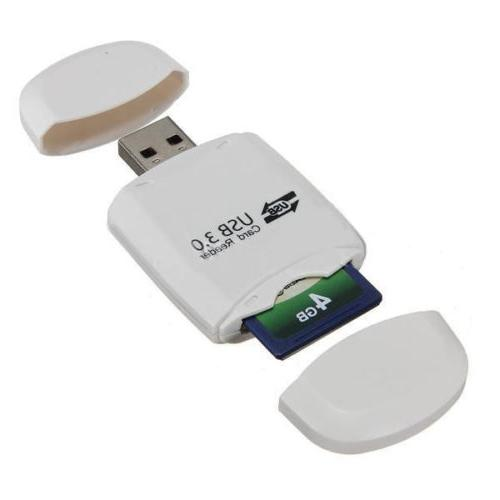 USB 3.0 Micro TF SDHC SDXC Card Reader 5Gbps N3