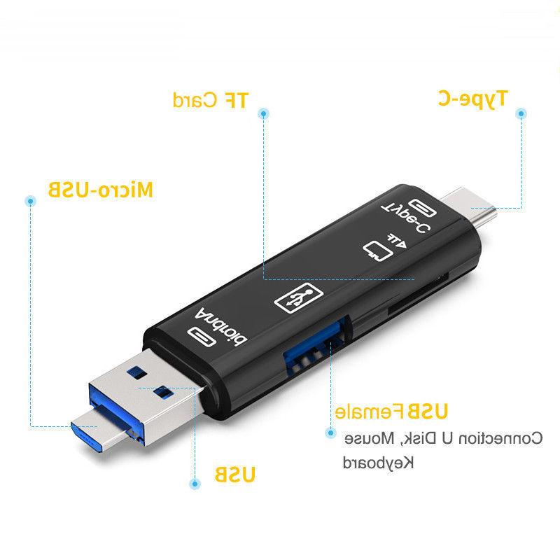 Type-C 3.1 OTG USB Memory Stick Card Adapter For Phone