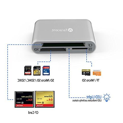USB Card USB-C to Reader, USB 3.1 5Gbps for CF/SD/TF SD/SD/MD/MMC/S