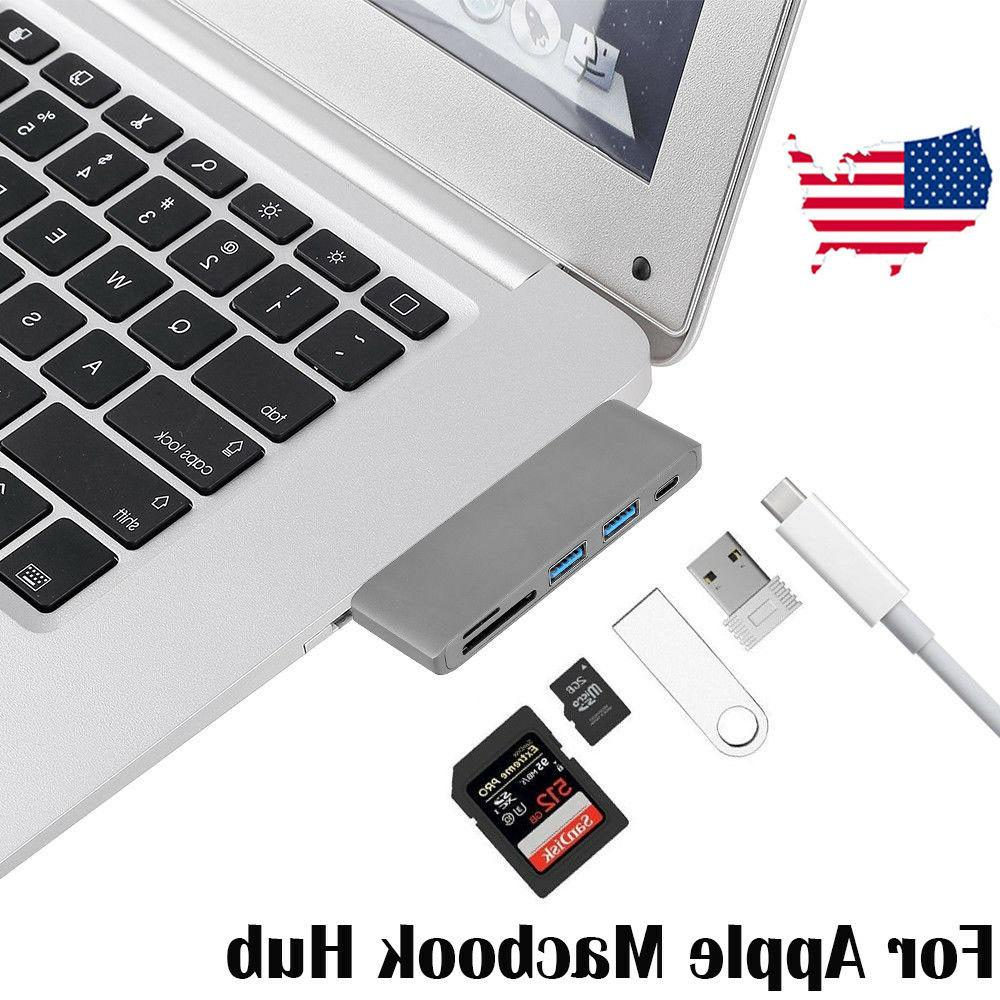 5in1 USB C 3.0 Adapter Data Card For MacBook Pro