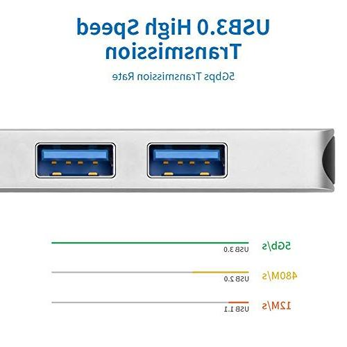 USB SD Reader HDMI MacBook Pro Lenovo Yoga in Type Thunderbolt SD/Micro SD Card Reader, 4K HDMI, 3.0 Ports