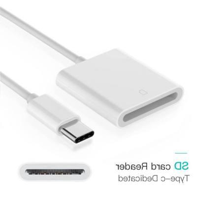 USB-C Card Camera Reader for Apple Pro