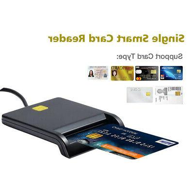 Card Reader Smart Adapter SIM/ATM/IC/ID Card 480Mbps
